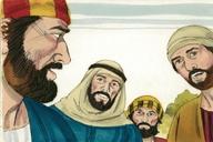 Saun Marcos 10:13 (Mark 10:13)