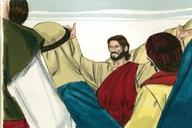 Saun Marcos 16:14 (Mark 16:14)