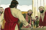 Saun Marcos 11:15 (Mark 11:15)