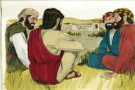 Saun Marcos 13:3 (Mark 13:3)