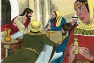 Saun Marcos 14:3 (Mark 14:3)