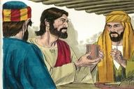 Saun Marcos 14:22 (Mark 14:22)