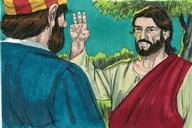 Saun Marcos 14:27 (Mark 14:27)