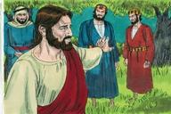 Saun Marcos 14:32 (Mark 14:32)