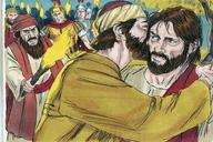 Saun Marcos 14:43 (Mark 14:43)