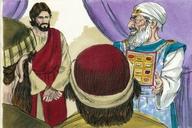 Saun Marcos 14:53 (Mark 14:53)