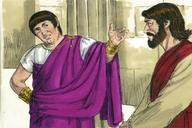 Saun Marcos 15:1 (Mark 15:1)