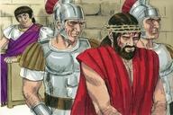Saun Marcos 15:16 (Mark 15:16)