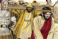 Saun Marcos 15:21 (Mark 15:21)