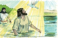 Luke 3:21-22 The baptism of Jesus