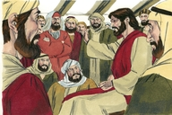 Calling of the first disciples (Luke 5:1-11)