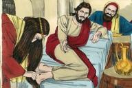 108. Jesus Anointed by a Sinful Woman, Luke 7:36-50