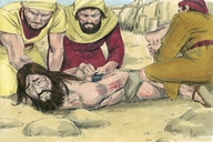Luke 8:26-39 Jesus heals a demon-dominated man