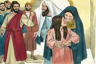 Luke 8:40