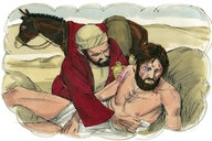 Luke 10:25-37  The Good Samaritan-