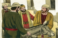 Luke 19:28-40