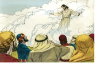 Luke 24:50-53 Jesus is taken to heaven