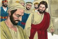 102. Jesus Heals A Man Born Blind, John 9:1-12