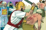 Acts 5:40-42