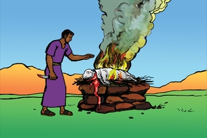 Picture 11: Sacrifices Burnt Whole