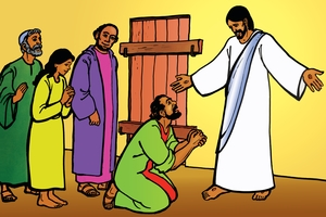 Picture 19: Jesus Appears to the Disciples