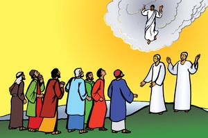 Picture 20: The Ascension ▪ Song: Praise to Jesus