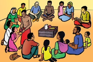 Cuadro 37 (Meeting for Worship)