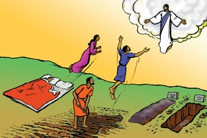 Yesu Wavakhwa Amafura Alichelela [Picture 38: Jesus Will Return]