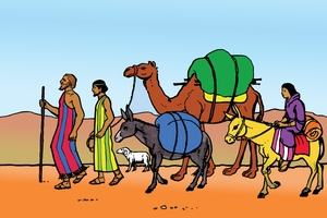 Braimu Atii Noungou [Picture 13. Abraham Leaves His Home]