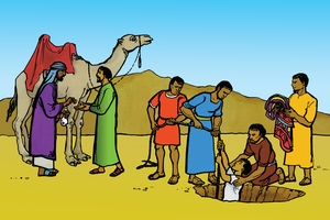 Beeld 6: Joseph Is Sold (Into Slavery)