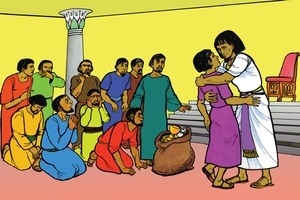 Larawan 11. Joseph Revealed to His Brothers