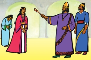 Picture 10. Esther and the King