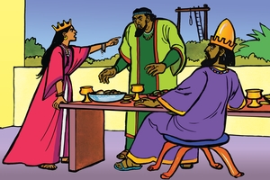 Picture 12. Esther's Feast