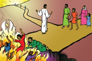 Picture 24: Jesus Shows the Way to Everlasting Life; and Song