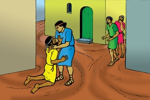 Omukhalavani Wakhalekhela Tawe [Picture 9. The Unforgiving Servant]