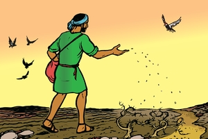 படங்கள் 20, 21. The Sower and the Seed (A Man Sows His Seed)