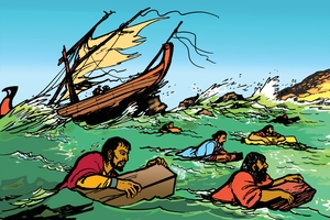 Picture 24. Paul as a Prisoner in Rome ▪ Picture 23. The Shipwreck