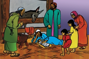 Picture 9. The Birth of Jesus