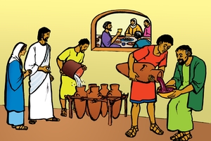 Picture 18. The Marriage Feast at Cana