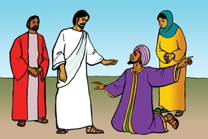 Picture 21. Jesus and the Official