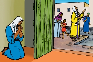 Picture 36. Teaching about Prayer