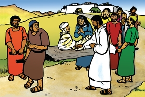 Picture 39. Jesus Raises a Widow's Son