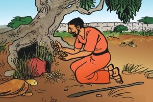 Picture 45. The Parable of the Hidden Treasure