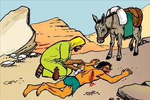 Larawan 67. Parable of the Good Samaritan