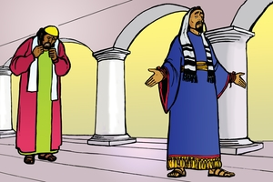 Picture 82. The Pharisee and the Tax Collector