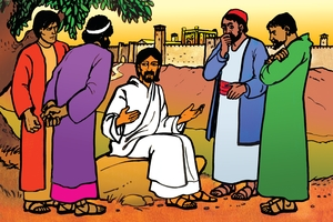 Bild 93. Jesus Teaches about the End Times
