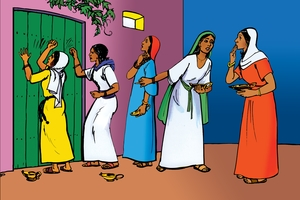 Inguli jo balyansho bekumi (絵 94. Parable of the Ten Virgins)