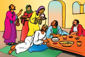 Picture 97. Jesus Anointed at Bethany