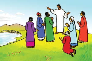 Bild 117. Jesus Commissions His Disciples