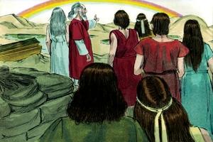 God's Covenant with Noah, Genesis 9:1-17